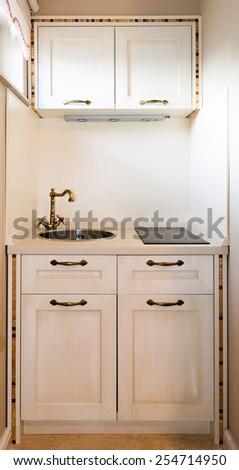kitchenette - stock photo