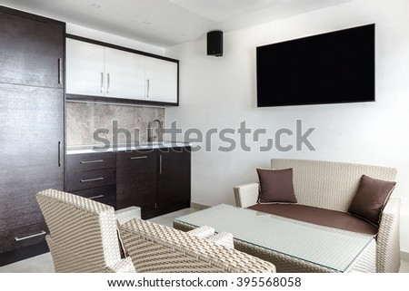 Kitchenette - stock photo