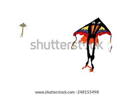 Kite in the air - stock photo