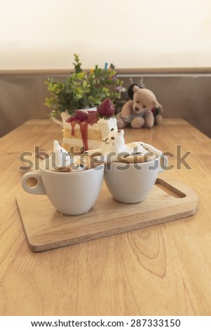 Kitty lover 3d latte Art