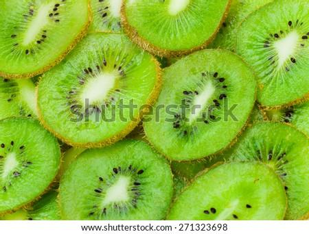kiwi - stock photo
