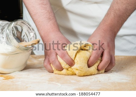knead with hands