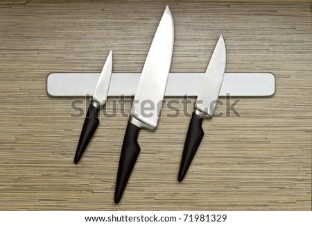 Knife set - stock photo