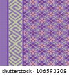 Knit texture for book cover or flayer design. Fabric background with ornament. Raster illustration. Vector file included in portfolio - stock photo