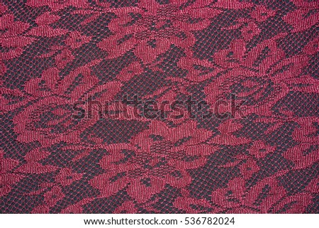Knit texture red