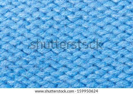 Knit woolen Christmas festive background for winter time - stock photo