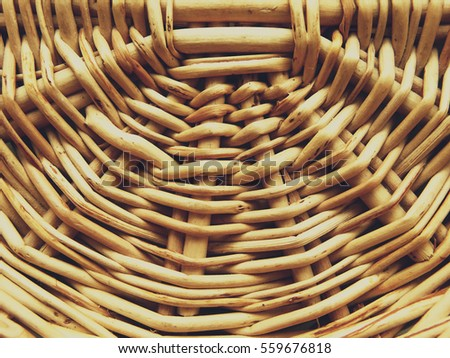 Knitted basket background wallpaper closeup macro texture abstract