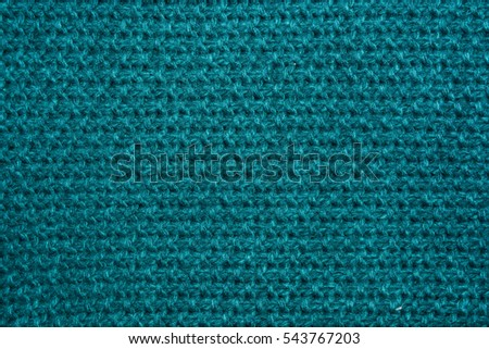 Knitted texture made of natural fabrics