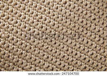knitted wool as the background - stock photo