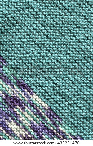 Knitted wool background.