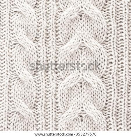 Knitted Wool Background/ Knitted Wool Background - stock photo