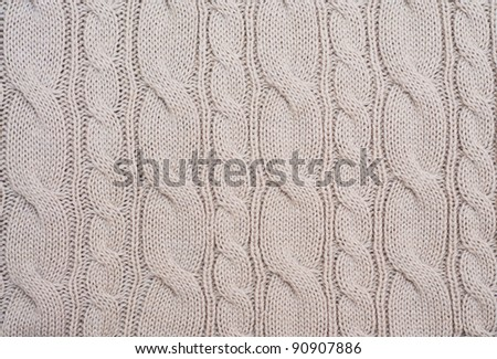 Knitted woolen background. Look through my portfolio to find more images of the same series - stock photo