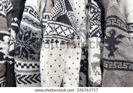 knitted woolen sweaters