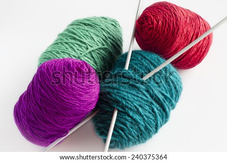 Knitting skeins