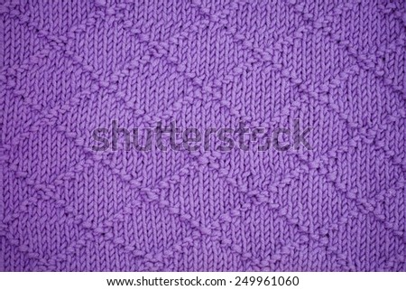knitting wool sweater texture close up - stock photo