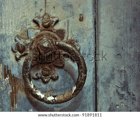 Knocker - stock photo