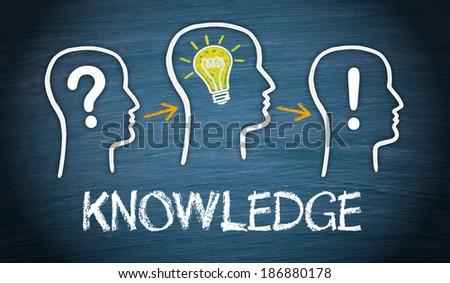 Knowledge - stock photo