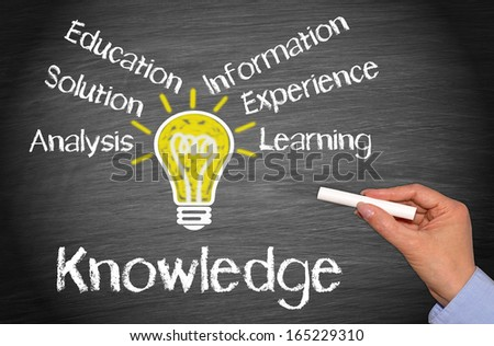 Knowledge Concept - stock photo