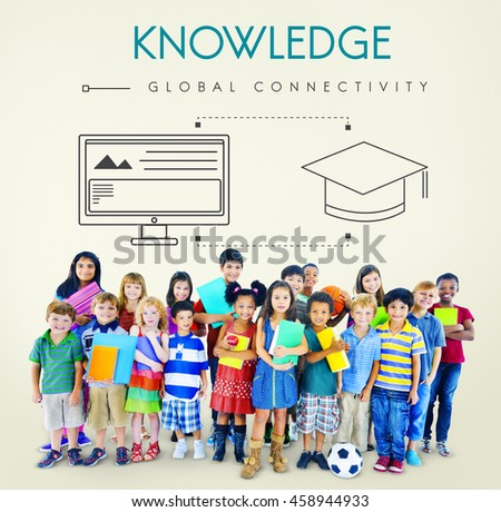 Knowledge Global Connectivity Education Graphic Concept