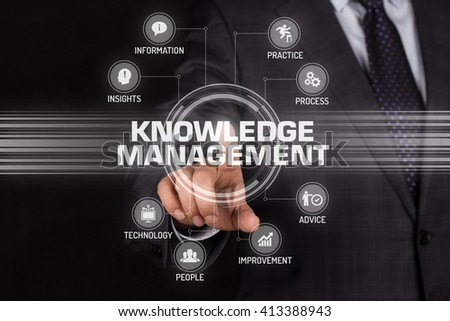 KNOWLEDGE MANAGEMENT TECHNOLOGY COMMUNICATION TOUCHSCREEN FUTURISTIC CONCEPT