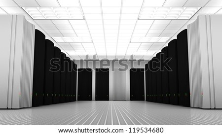 Knowledge Tower Room - stock photo