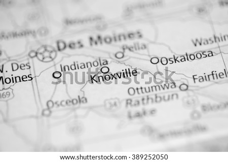 Knoxville. Iowa. USA - stock photo