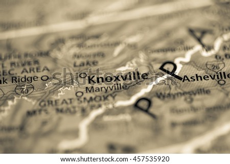 Knoxville. Tennessee. USA - stock photo