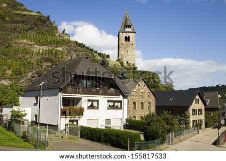 Kobern-Gondorf in Germany. It is a municipality in Rhineland-Palatinate on the Mosel river.