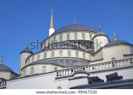 Kocatepe Mosque details, Ankara, Turkey - stock photo