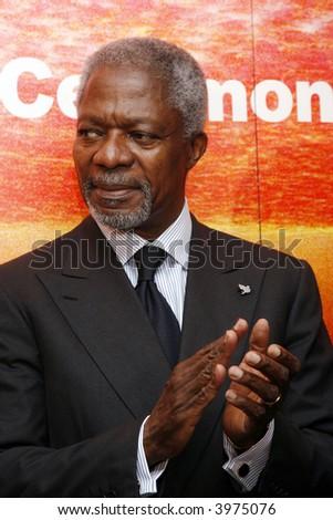 Kofi Annan - stock photo