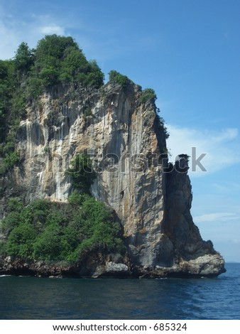 Koh Doc Mai Island, Thailand - stock photo