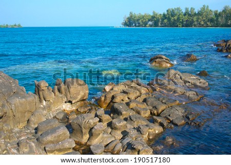 Koh-Kood island in Thailand  - stock photo