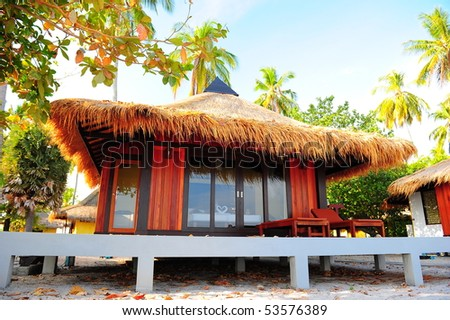 Koh Mook beach - stock photo