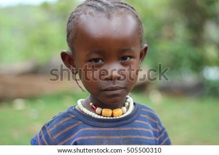 Omo Valley Ethiopia Circa November Portrait Of A Mursi Woman.search.