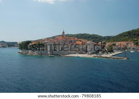 Korcula, Croatia - stock photo