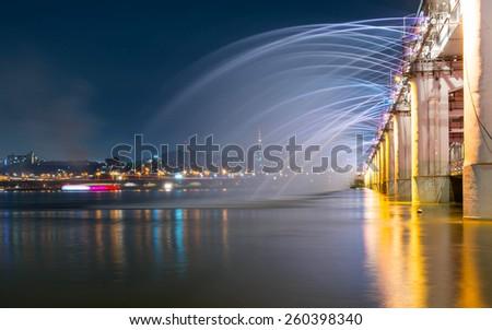 Korea Bridge  - stock photo