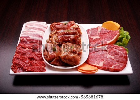 Korean Bbq Grill Pork Bbq In Korea Style