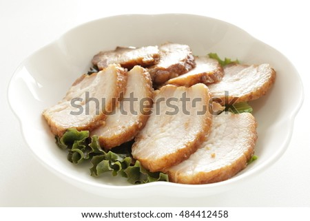 Korean food, Bossam boiled pork belly
