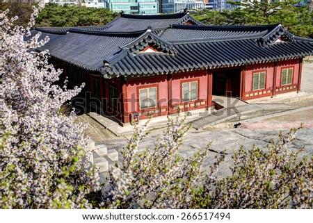 Korean Palace - Changgyeonggung - stock photo