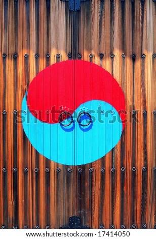 Korean Tradition and Symbol - stock photo