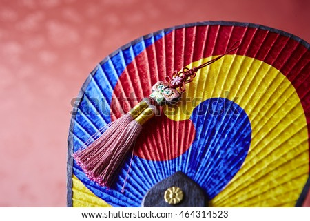 Korean traditional fan