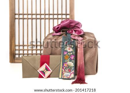 Korean traditional object - stock photo