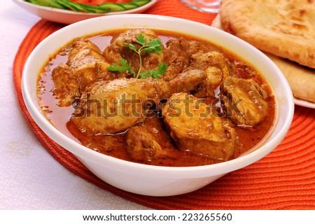 Korma Chicken-6 - stock photo