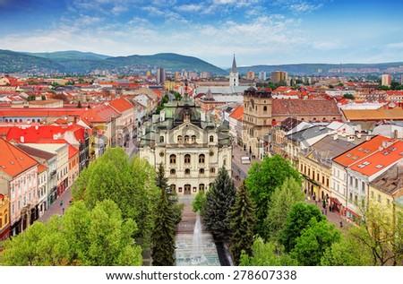 Kosice - Slovakia - stock photo