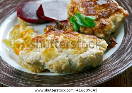 Kotletas jurate  - Lithuanian chicken cutlets