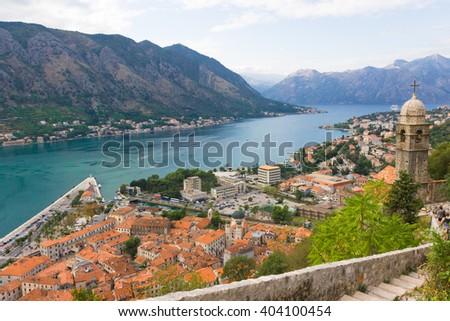 Kotor, Montenegro, view at old town. - stock photo