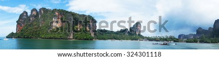 Krabi in Thailand  - stock photo