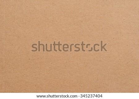 Kraft Paper Texture - stock photo