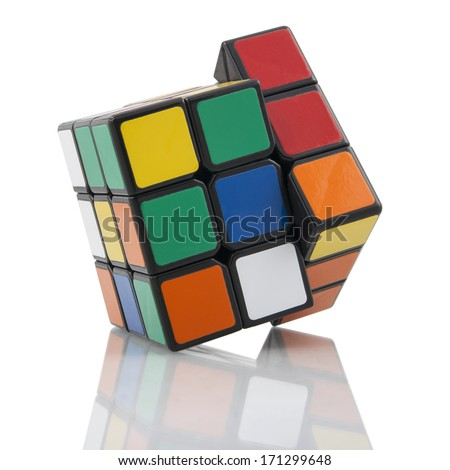 The Rubik Zone - Number Of Combinations