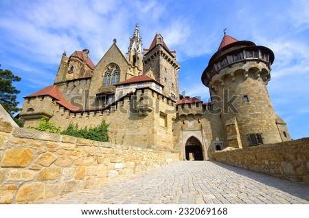 Kreuzenstein castle  - stock photo